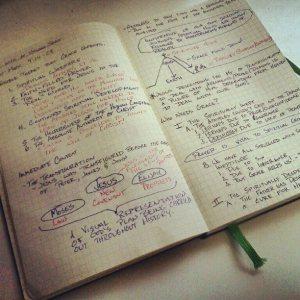 sermon notes